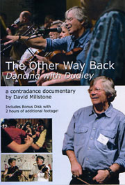 contra dance with david millstone, video, the other way back, dancing with dudley